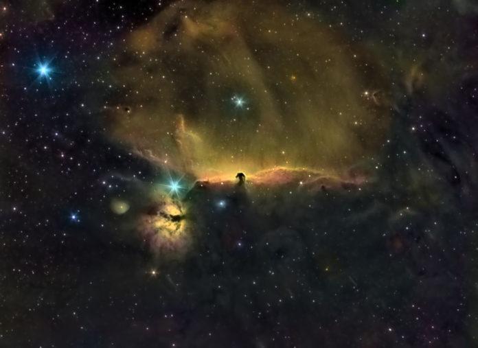 Durante la madrugada del 30 al 31 de marzo, se podrá observar la conjunción de Marte y Saturno en el cielo