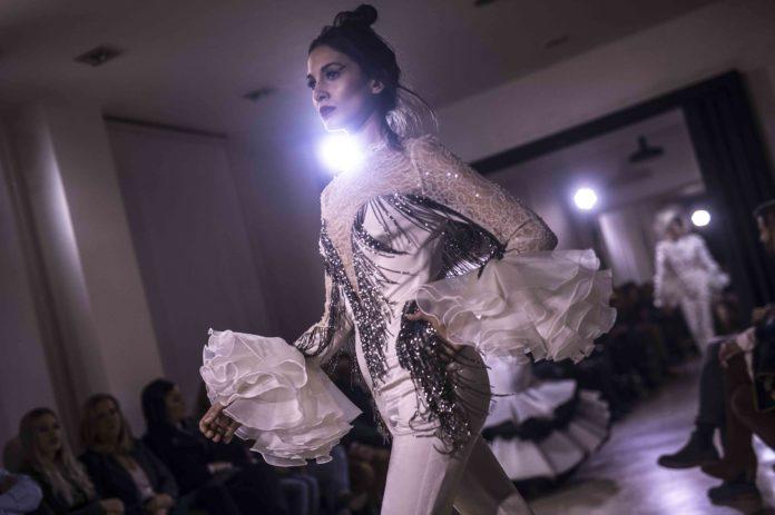 Desfile moda flamenca Juana Martín