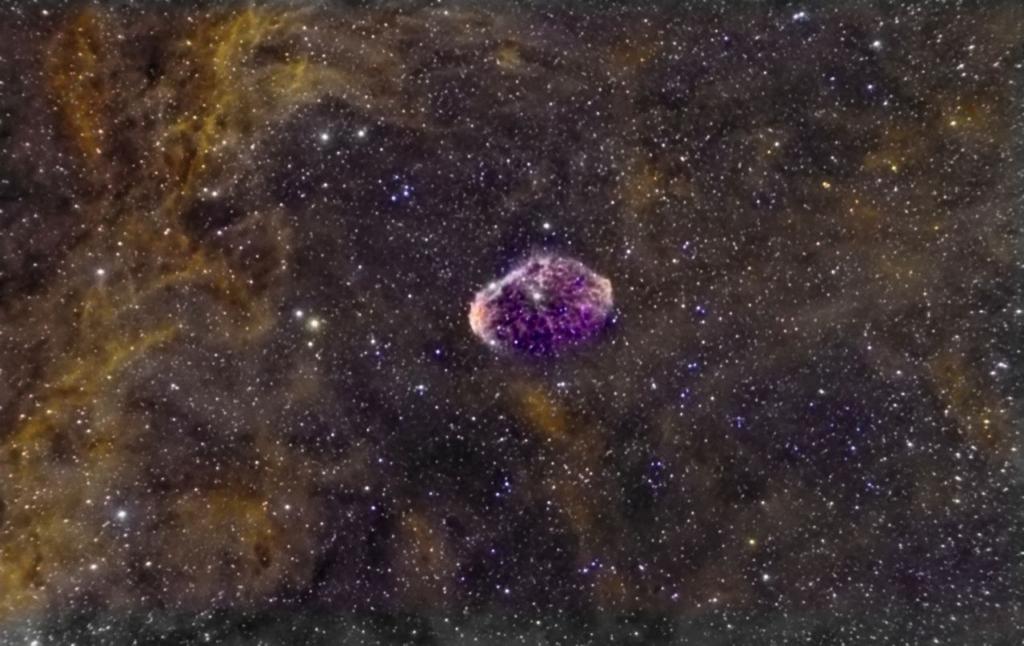 The Crescent Nebula. Foto: Juan Gómez