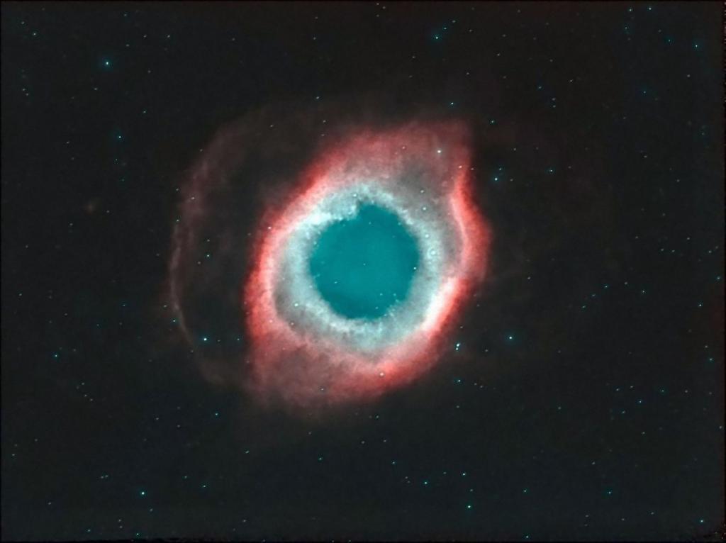 The Helix Nebula. Foto: Juan Gómez