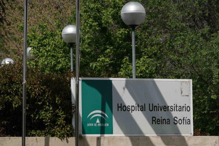 Hospital Reina Sofía,Foto: RAM, herido