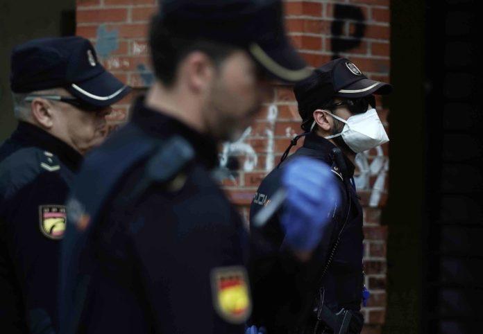 tres policias nacionales