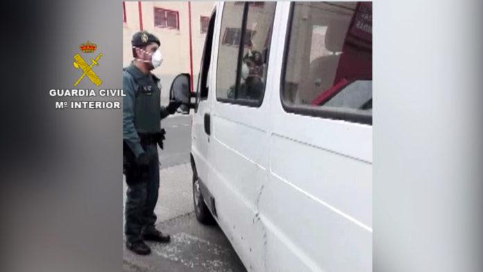 Guardia Civil, superar la tasa de alcohol