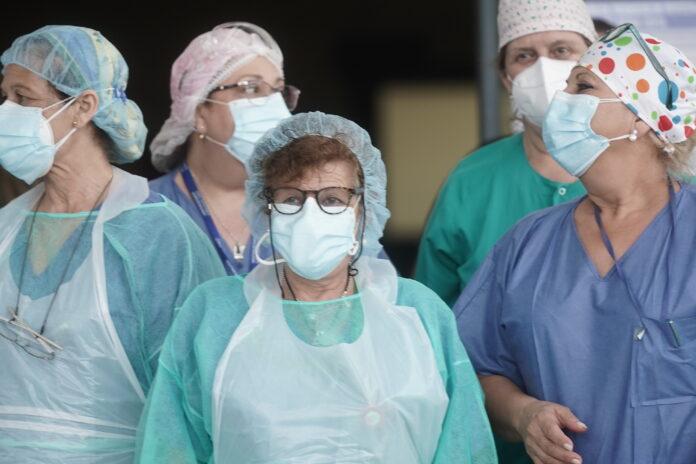 Sanitarios hospital Reina Sofía