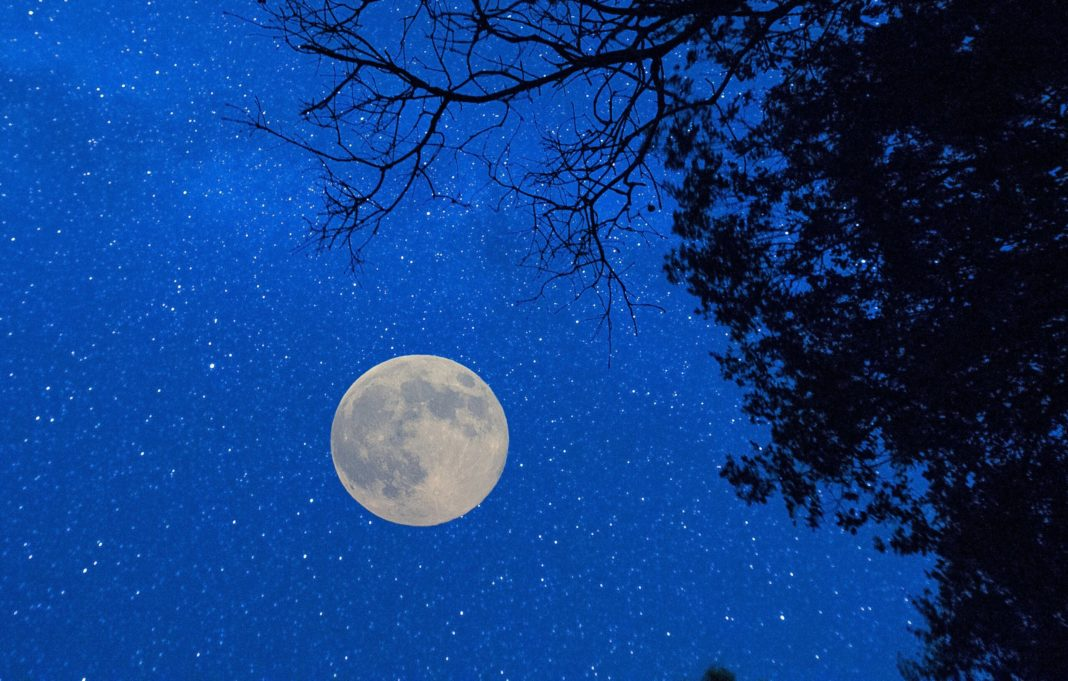 Vista de la Luna desde la reserva 'Starlight' cordobesa
