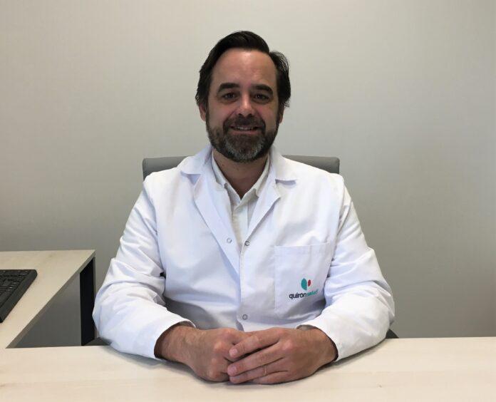El doctor Manuel Romero, de la clínica QuirónSalud.