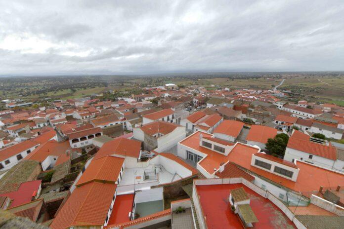 Foto aerea de Pedroche