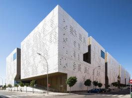 Una perspectiva de la Ciudad de la Justicia de Córdoba.