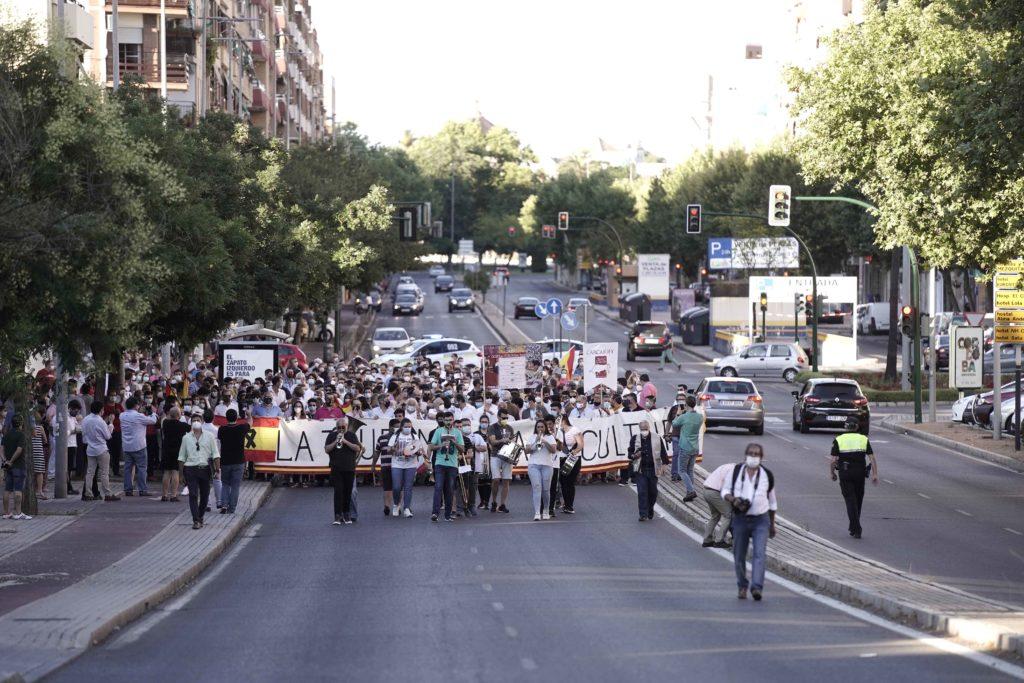 Manifestación los toros Patrimonio Cultural