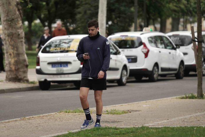 Hombre haciendo deporte