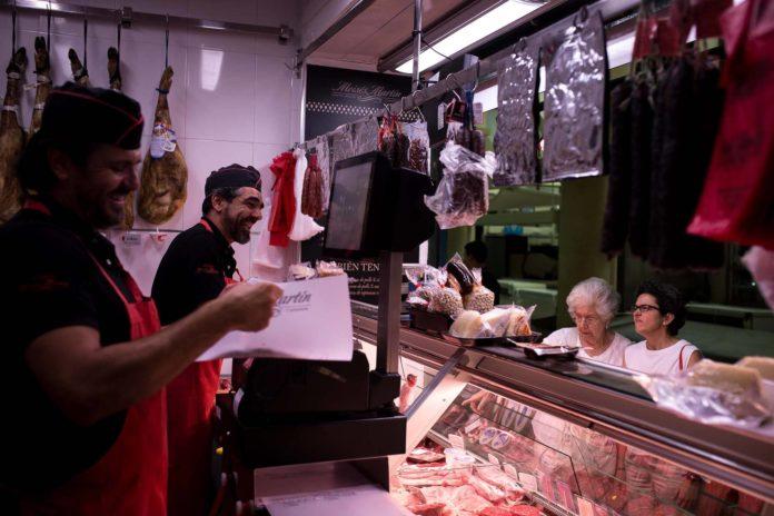 Puesto del mercado de La Corredera