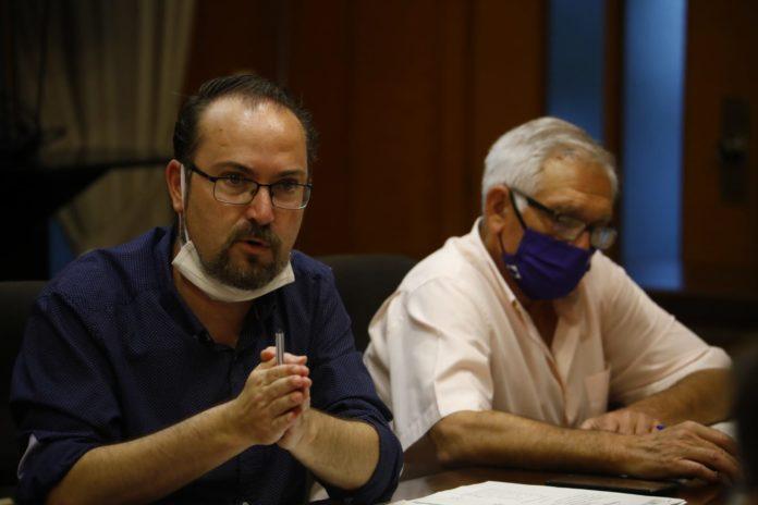 Juan Alcántara, Grupo Municipal Podemos