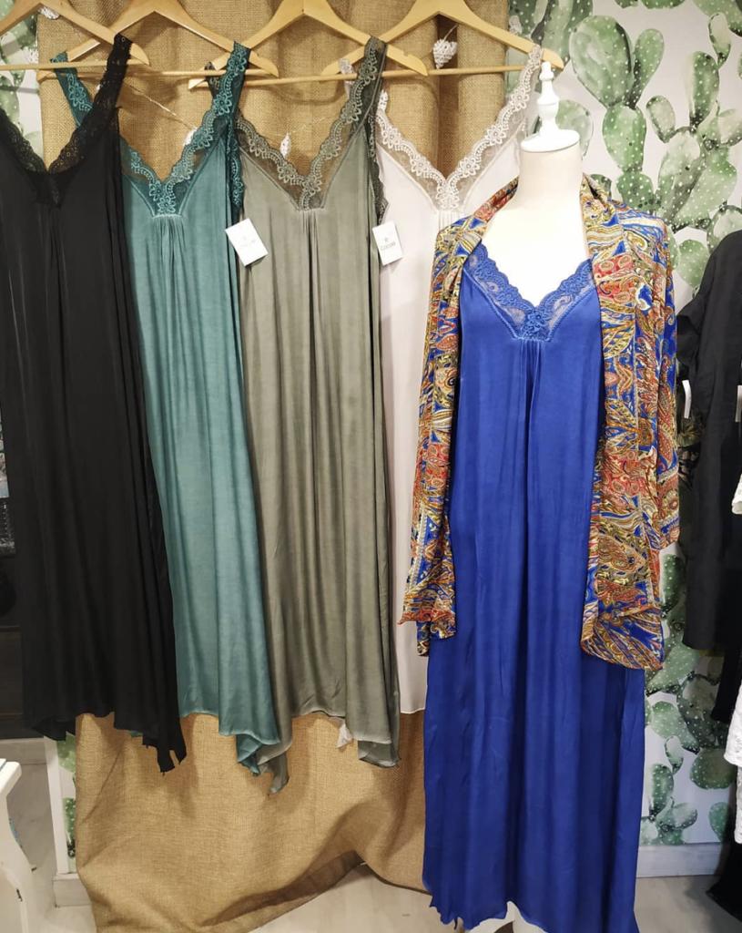 Vestidos lenceros. Foto: Cocolé