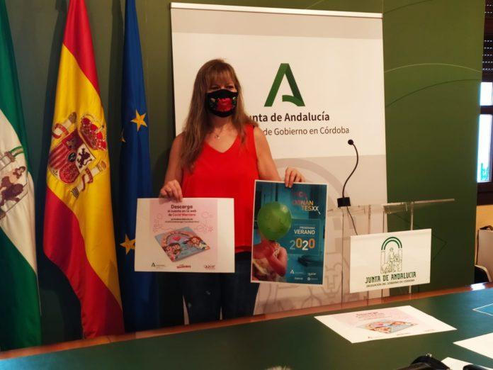 Lourdes Arroyo en la presentación de Vacacionantes