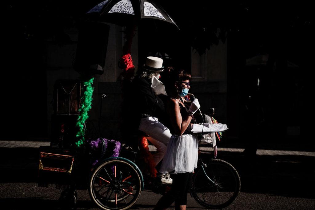 Performance A. Escénicas. Foto: Miguel Valverde