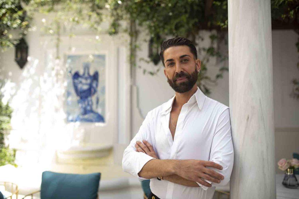 José Tabas en La Casa de Manolete Bistró