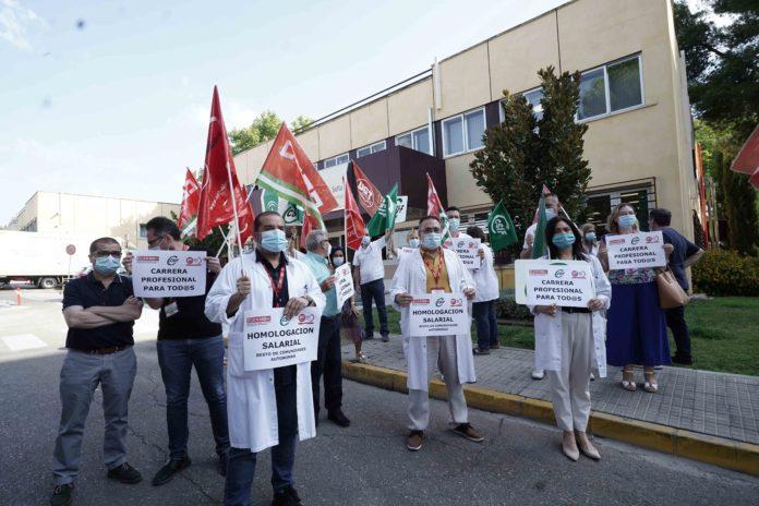 Protestas en Reina Sofía