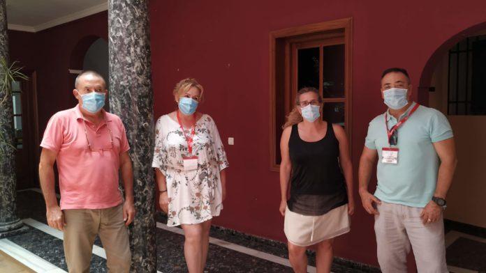 Representantes CCOO sanidad