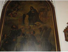 'Aparición de la Virgen a los servitas'
