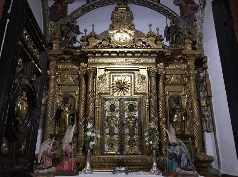 Sancta Sanctorum de la Iglesia Parroquial de Nuestra Señora del Soterraño de Aguilar de la Frontera