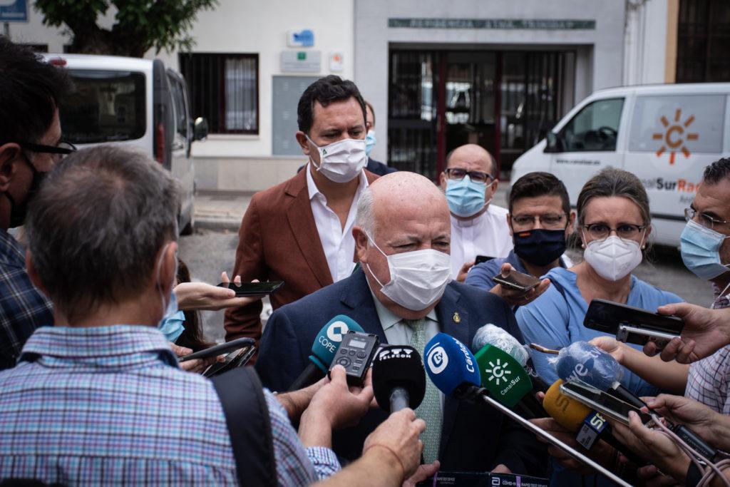 Jesús Aguirre, consejero de Salud de la Junta de Andalucía. Foto: RAM