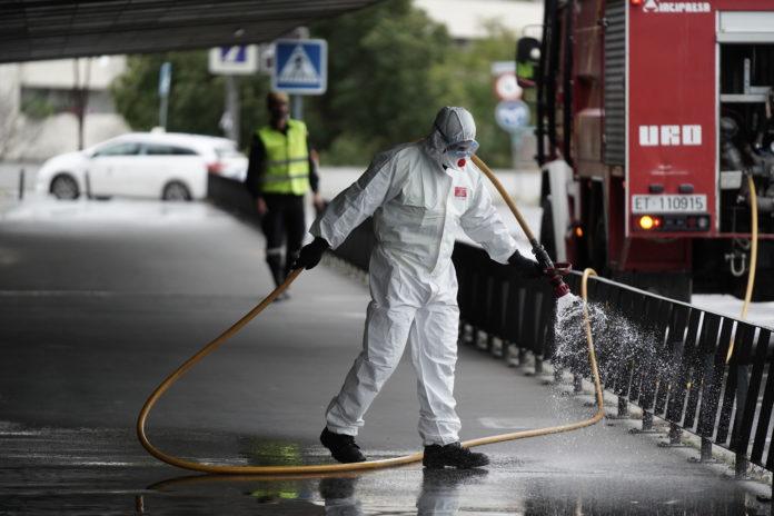 última hora desinfección de la UME en Córdoba