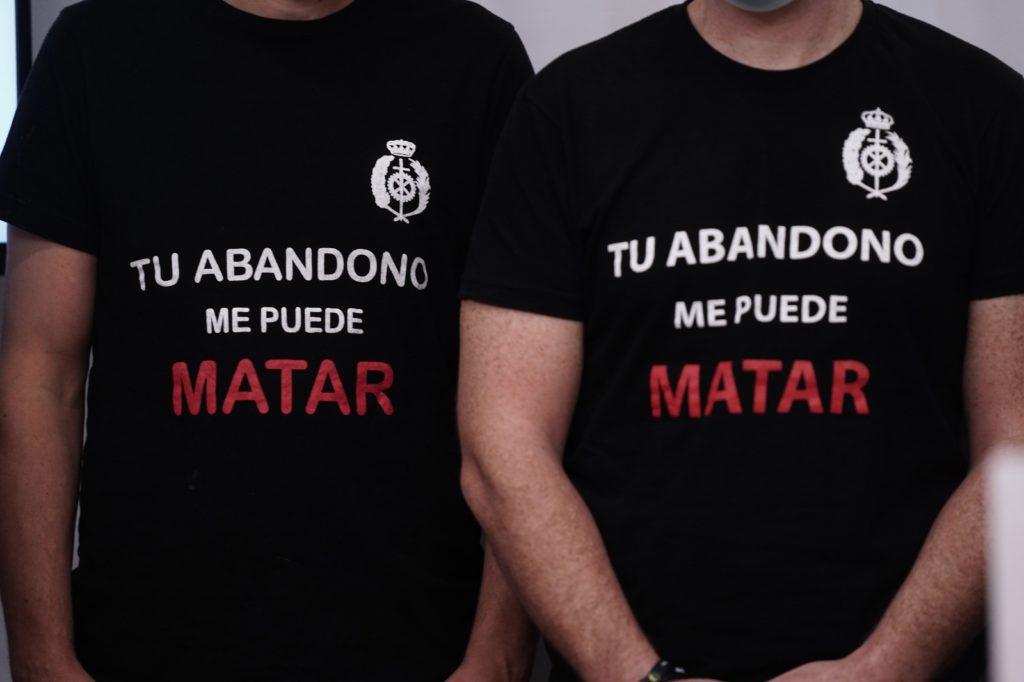 Antonio Hurtado y funcionarios de prisiones