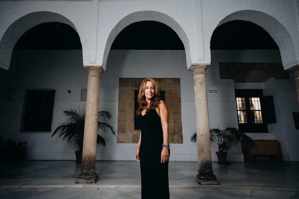 La delegada de Cultura Promoción y Casco Histórico en el Palacio de Orive, habla sobre el sector cultural