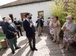 El presidente de la Junta de Andalucía visita Pedro Abad