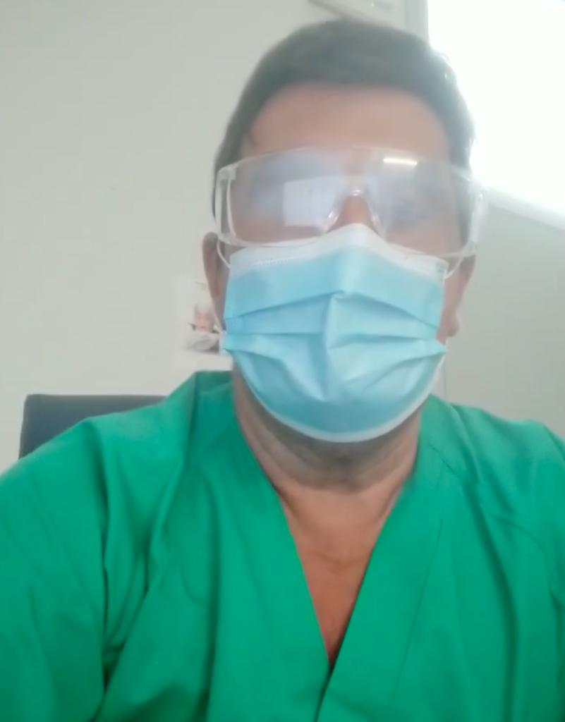 Francisco Gallegos, medico en Urgencias del Chare de Puente Genil y Hospital Quirónsalud Córdoba