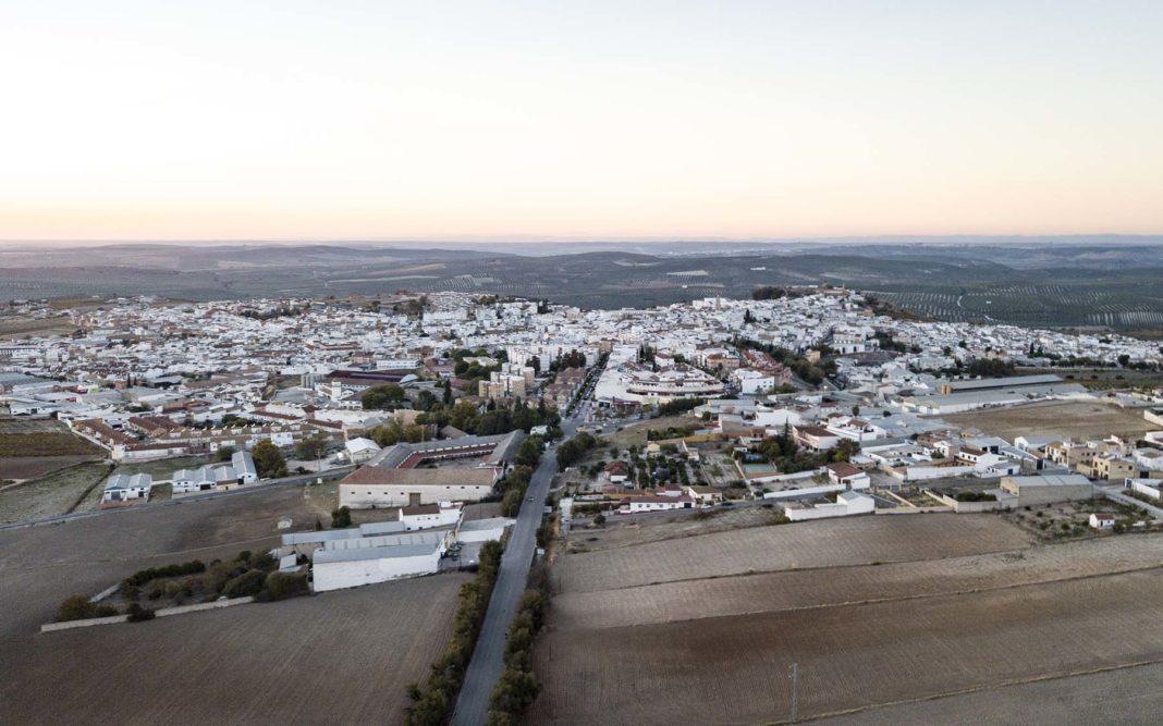 Vista de Dron en Aguilar de la Frontera