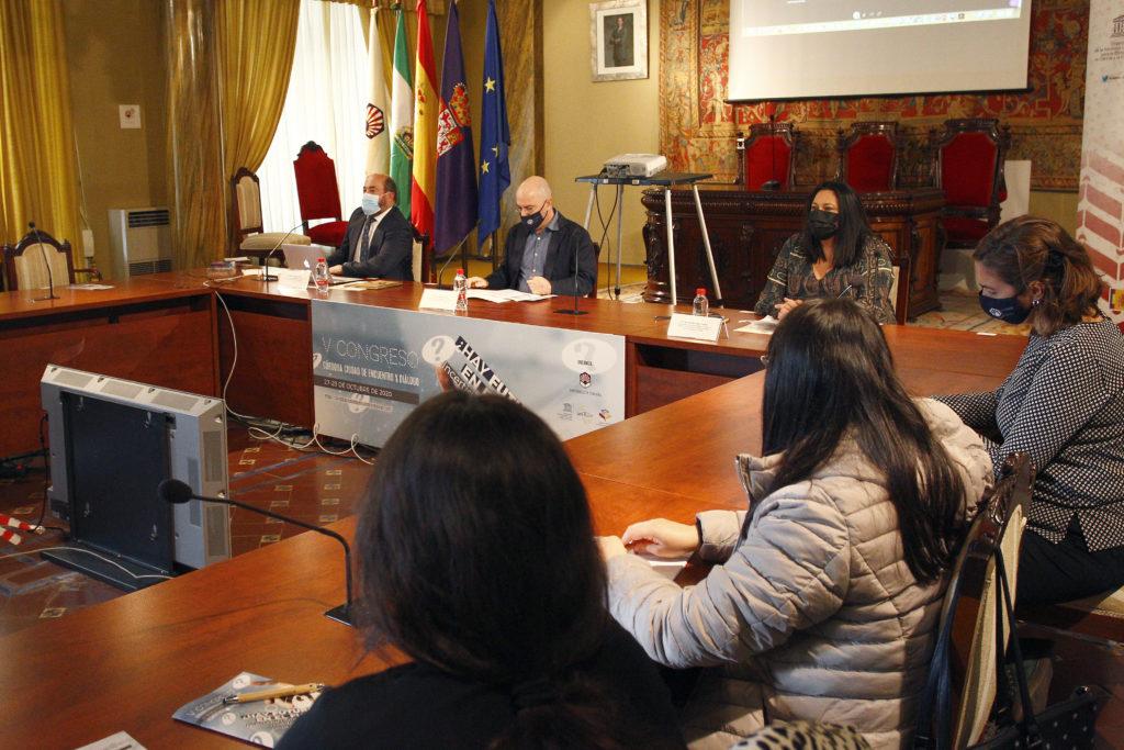 Acto de inauguración del V congreso 'Córdoba: Ciudad de Encuentro y Diálogo'