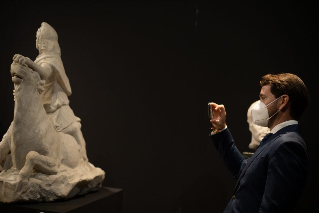 Inauguración de 'Julio Romero de Torres y el mito mediterraneo del toro' en el Museo Arqueológico de Córdoba