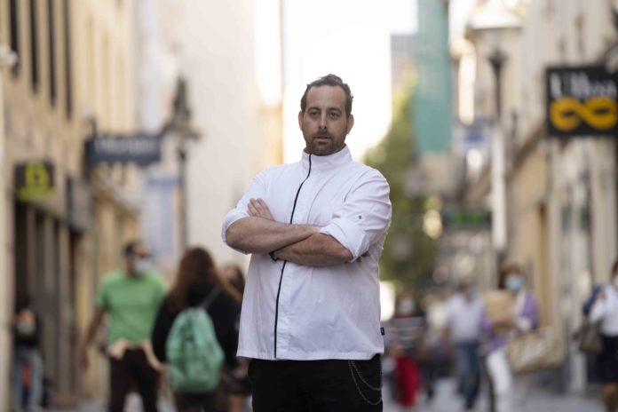 José María del Pino, chef de Nískalo