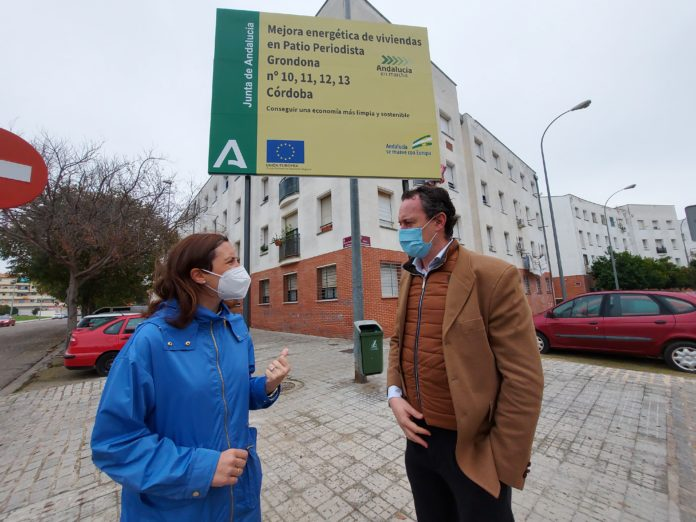 Obras de mejora energética de 31 viviendas de Patio Periodista Grondona