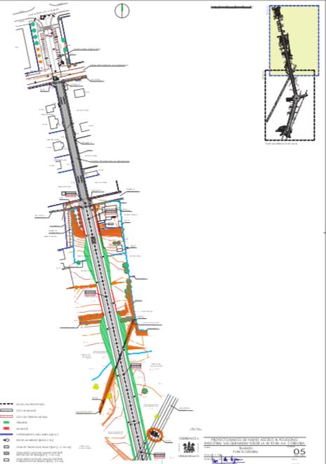 Planos conexión autovia
