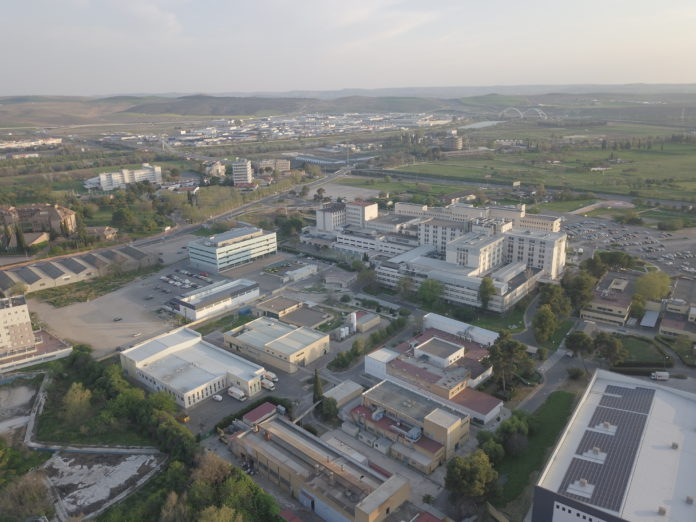 Vista aérea de Córdoba. FOTO: RAM