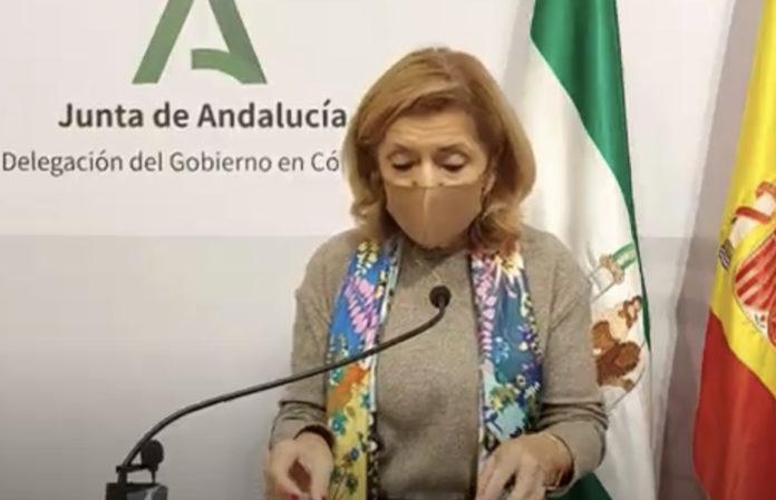 María Jesús Botella, delegada de Salud y Familias en Córdoba