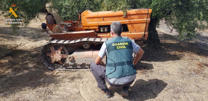 Tractor, Cañete de las Torres