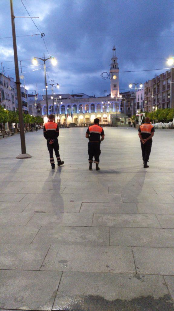 Voluntarios Protección Civil, Policía Local