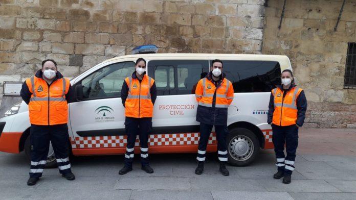 Voluntarios Protección Civil, octubre