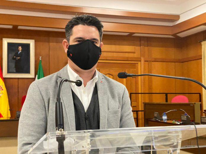 Pedro García, portavoz del Grupo Municipal IU