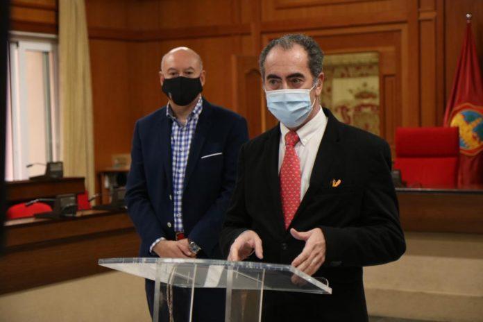 Antonio Álvarez en la rueda de prensa