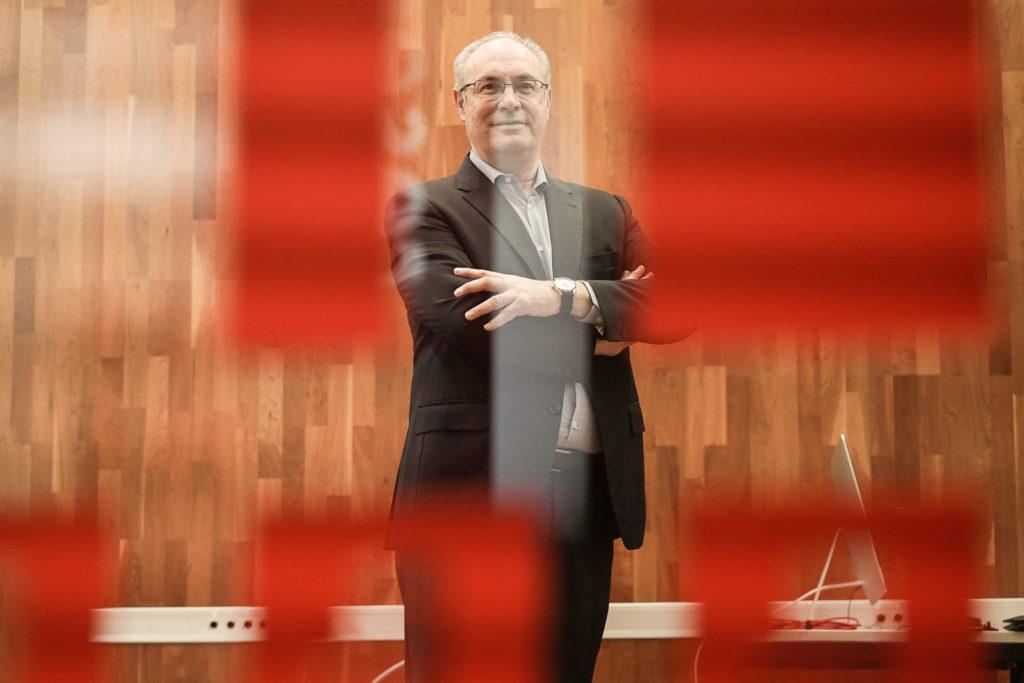 Juan Pablo Durán, en la sede del PSOE de Córdoba Foto: RAM