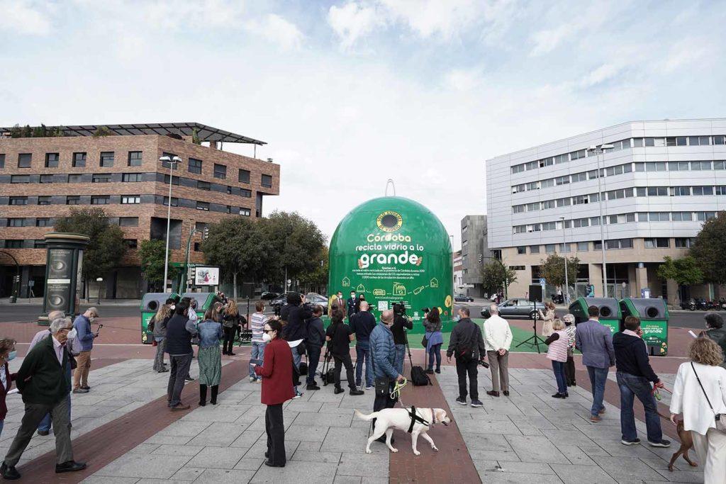 'Córdoba recicla a lo grande'. FOTO: RAM