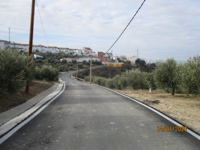Reparación de caminos de Valenzuela