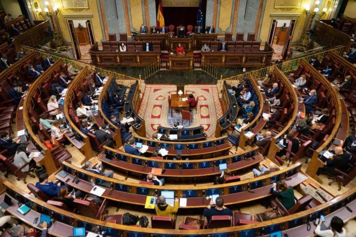 El Congreso de los Diputados aprueba los Presupuestos Generales del Estado para 2021. FOTO: Congreso de los Diputados