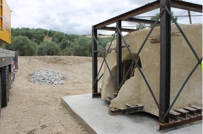 Yacimiento de los Tejares, Foto: Ayuntamiento de Lucena, restauración