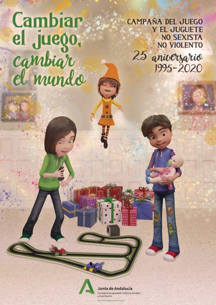 Cartel campaña juguete