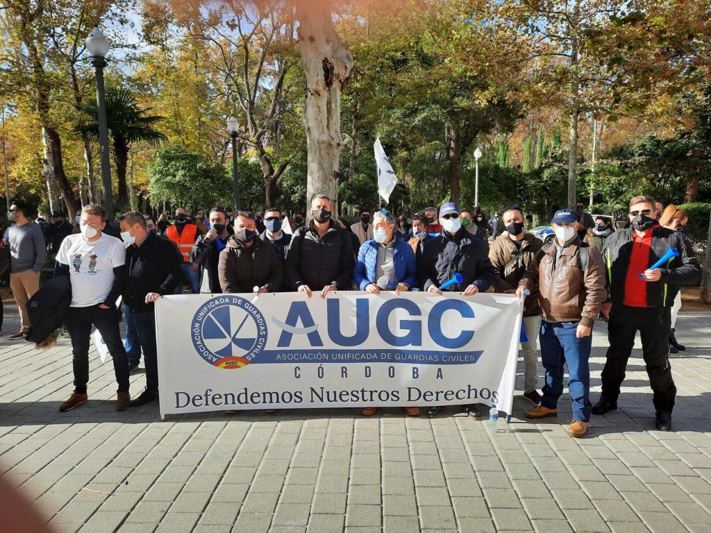 La Guardia Civil de Córdoba se manifiesta